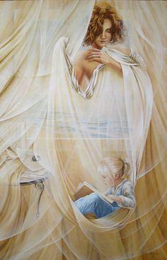 Chelìn Sanjuan 1967 | Spanish Magical Realism painter