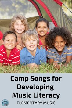 Camp Songs in the Elementary Music Classroom? Yes, but, how do you find songs that teach music reading skills and align with your music curriculum? Check out these awesome blog post ideas about using camp songs in music classes to develop music literacy skills. Your K-5 students will love the differentiated activities including Orff ostinato patterns for instruments, Boomwhackers, unison Student Learning Objectives, Literacy Skills, Orff Activities, Camp Songs, Elementary Music, Kids Writing, Music Classroom, Teaching Music, Reading Skills