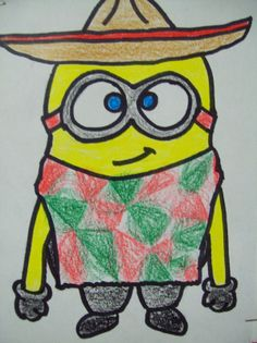 minion classroom theme | Then they were to think of a theme and add clothes,