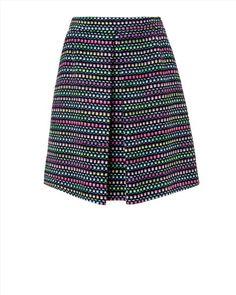 Jaegar Boutiqe Neon Tweed Skirt, 125£