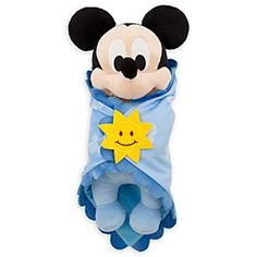 Disney's Babies Mickey Mouse Plush Doll and Blanket - Small - 11'' | Disney StoreDisney's Babies Mickey Mouse Plush Doll and Blanket -