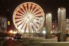 Liege christmas Market - Copyright Liege Tourisme. All the best Christmas Markets on @ebdestinations #Christmas #Xmas #Christmasmarket #Europe #travel