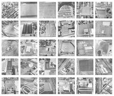 Ed Ruscha Thirty-four parking lots in Los Angeles 1967 Conceptual Photography, Image Photography, Joseph Kosuth, Sunset Strip, Multiple Images, Parking Lot, Stamp Collecting, Photomontage, Art And Architecture
