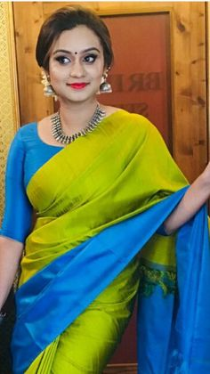 Discover thousands of images about Product Type Saree (Unstitched) Saree Material Chiffon Length Mtrs. Indian Silk Sarees, Soft Silk Sarees, Jamdani Saree, Lehenga Saree, Engagement Saree, Silk Saree Blouse Designs, Blouse Patterns, Fancy Sarees, Trendy Sarees