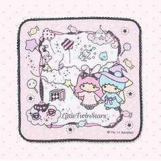 【2011.08.17】【Magical Circus】Handkerchief (¥630 約23×23×0.5cm) ★Little Twin Stars★