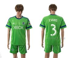 http://www.xjersey.com/201516-seattle-sounders-3-evans-home-jersey.html 2015-16 SEATTLE SOUNDERS 3 EVANS HOME JERSEY Only 33.11€ , Free Shipping!
