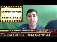 New Mexico Lobos vs. Washington St Cougars Pick Prediction College Baske...