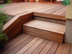 wooden terrace, IPE tabaco