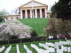 Arlington Cemetery, this is an incredible place to see folks