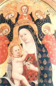 Pietro di Domenico da Montepulciano Polittico 1418  tempera su tavola