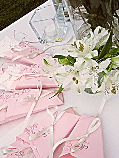 Little confetti cones Confetti Cones, Most Romantic, Wedding Colors, Colour, Pink, Gifts, Color, Presents, Color Scheme Wedding