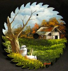 Stable & Milkcans Round Blade - 7-8"