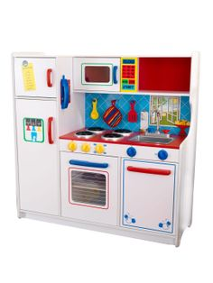 Cute little kitchen for kids (also suitable for boys).