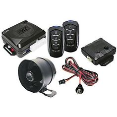 PWD701 4-Button Electronics Features Remote Door Lock Vehicle Security System