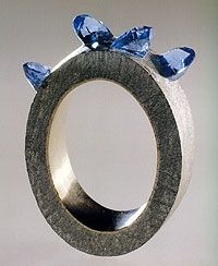 Fabrice Schaefer Ring: Untitled recomposed aluminium, topazes Fabrice Schaefer. © By the author. Read Klimt02.net Copyright .