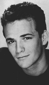 Luke Perry star of Beverly Hills 90210 character Dylan McKay