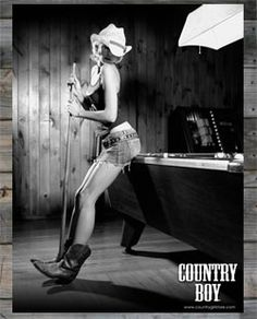 Country Boy Logo Billiards Poster
