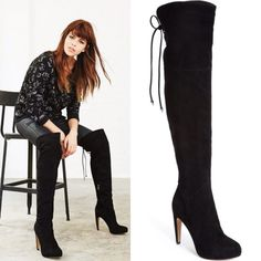 cdb4a10a6ec Shop Women s Sam Edelman Black size Over the Knee Boots at a discounted  price at Poshmark.