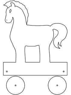 DLTK's Template Printing Ancient Greece Crafts, Ancient Greece For Kids, Ancient Greek Art, Ancient History, Troy Horse, Horse Template, Greece Culture, Greek Crafts, Cultures Du Monde