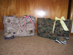 Two Marine handbags (wife and mom).