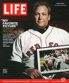 Schilling on the cover of Life Magazine