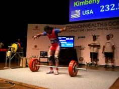 Kimberly Walford - Raw WR DL 232,5kg  So amazing!!! Women Lifting, Lift Heavy, Lady, Amazing, Fitness, Youtube, Image, Excercise, Health Fitness