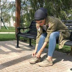 Military style-Turban hijab styles ideas – Just Trendy Girls