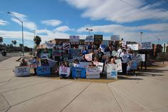 From Sunday's Dolphin Free AZ protest. It was great to see everyone there!