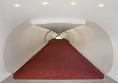 Trans World Airline Terminal 5 Kennedy Airport (Renovated) | Eero Saarinen | photo by David Leventi