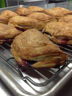 Summer - Fresh Mixed Berry Hand Pies fresh from the oven!