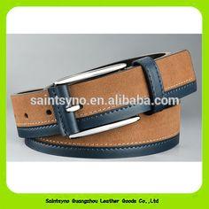New Arrival Nubuck Cowhide Genuine Leather Belts Casual Pin Buckle Men's… Wide Leather Belt, Leather Belts, Leather Men, Fashion Mode, Mens Fashion, Fashion Styles, Leather Accessories, Fashion Accessories, Designer Belts