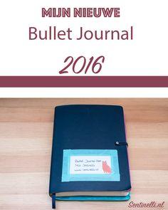 Mijn nieuwe Bullet Journal 2016
