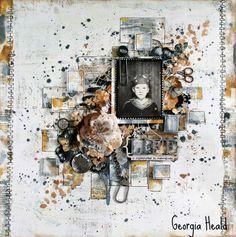 Heritage. Mixed Media. Layout: Life Georgia Heald