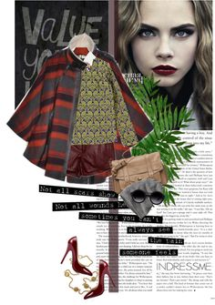 """""""Cara"""" by esse-is-for-sabrina ❤ liked on Polyvore"""