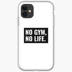 'No Gym No Life Inspirational Quote' iPhone Case by Inspiring Quotes About Life, Inspirational Quotes, Iphone Cases Quotes, Iphone 11, It Works, Gym, Printed, Awesome, People
