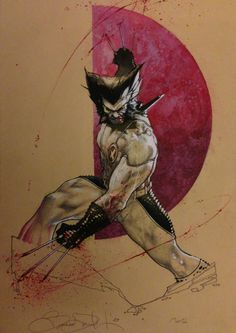 Wolverine by Simone Bianchi, in Francis Chervenak's Commissions Comic Art Gallery Room - 974898
