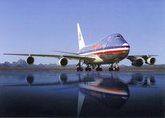 American Airlines Boeing 747-100