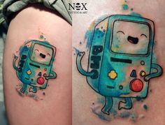 BMO from Adventure Time by mattynox                                                                                                                                                                                 Mehr