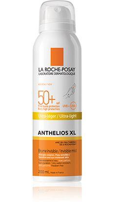 ANTHELIOS XL SPF 50+ Bruma invisible ULTRA LIGERA de La Roche Posay. Protege tu piel del sol con la gama de productos solares Anthelios XL.