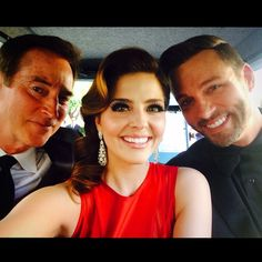 """""""On the #WarnerBrothers lot tram riding to the #Emmys @ericmartsolf #Thrady and my favorite father-in-law for half a second who I put into a coma. …"""""""