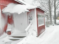 Westergrannas kaffestuga Snow, Gallery, Outdoor, Outdoors, Roof Rack, Outdoor Games, The Great Outdoors, Eyes, Let It Snow