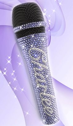 Karaoke Entertainment Musical Instruments & Gear Collection Here Njs Silver Crystal Bling Dazzling Effect Karaoke Party Home Microphone Mic Beautiful And Charming