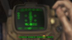 Chems messed up my Pipboy color #Fallout4 #gaming #Fallout #Bethesda #games #PS4share #PS4 #FO4