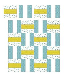 Floating On Cloud9: Flannel Baby Quilt Tutorial