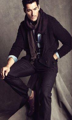a fashionable man
