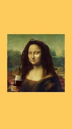 43 Ideas Aesthetic Wallpaper Funny Quotes For 2019 Wallpaper, Aesthetic Iphone Wallpaper, Mona Lisa, Disney Wallpaper, Tumblr Wallpaper, Funny Wallpapers, Pictures, Art Wallpaper, Aesthetic Art