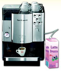 Die Quick Mill 5500OA mit massiver Brühgruppe aus Edelstahl und Messing für höchsten Espressogenuß. Top Vollautomat erhältlich bei www.CorlitoCaffe.de
