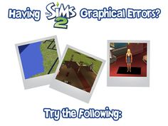 A Life of Sims — I encountered all of these errors with Sims 2 on...