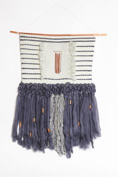 Copper Stripe Hand Loom Weaving | Young & Able