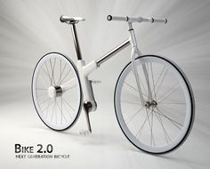 Bike 2.0 by Nils Sveje, Inoda Sveje design studio & IPU Produktudvikling  Read more at http://www.yankodesign.com/2010/09/24/15-amazing-bicycles-for-the-future-of-seoul/#LtFUMoZ5CpCeqF7v.99